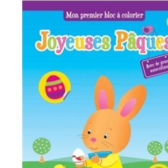 Pâques : coloriages et autocollants