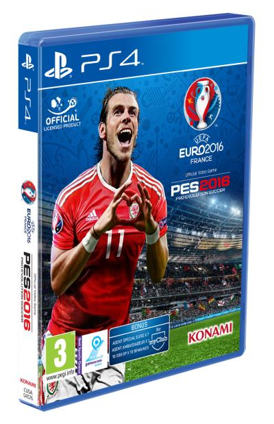 PES Edition Euro 2016 PS4