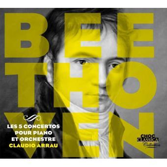 5 concertos piano et orchestre