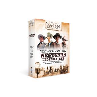 Coffret Westerns américains 4 films Blu-ray