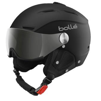 15bf61fe Casque de ski Bollé Backline Visor 59-61 cm Noir et argent ...