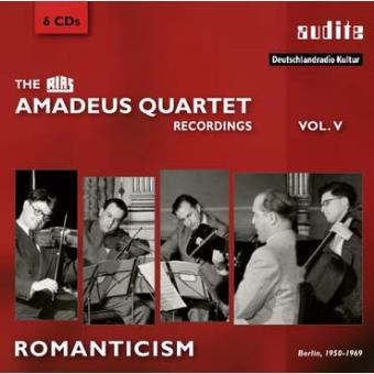 AMADEUS QUARTETT RIAS RECORDINGS VOL.V/6CD