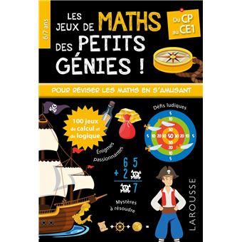 Les Jeux De Maths Et Logique Des Petits Genies Cp Broche Mathieu Quenee Achat Livre Fnac