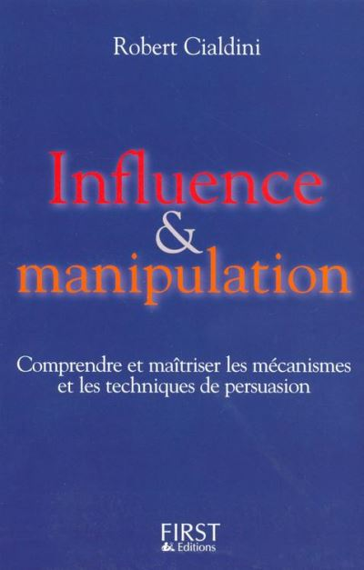 Influence et manipulation - 9782754043694 - 13,99 €