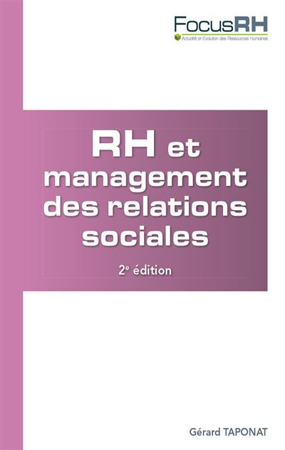 RH et relations sociales