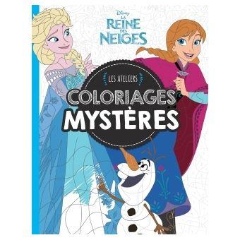 Livre Coloriage Reine Des Neiges.La Reine Des Neiges Ateliers Disney Reine Des Neiges