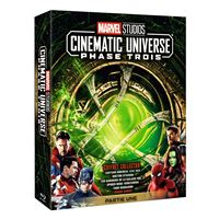 Coffret Marvel Studios Cinematic Universe Phase 3 Partie 1 Blu-ray