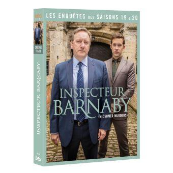Inspecteur BarnabyCoffret Inspecteur Barnaby Saisons 19 et 20 DVD