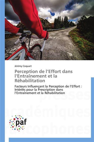 Perception de l effort dans l entraînement et la réhabilitation