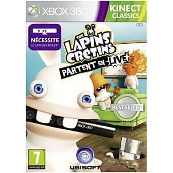 Les Lapins Crétins partent en Live Xbox 360