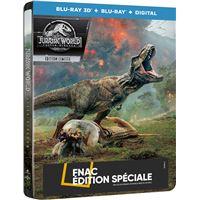 Jurassic World : Fallen Kingdom Steelbook Edition Fnac  Blu-ray 3D