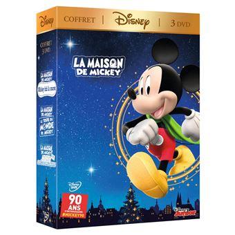 La Maison de MickeyCOFFRET LA MAISON DE MICKEY (MICKEY) 3 FILMS-FR