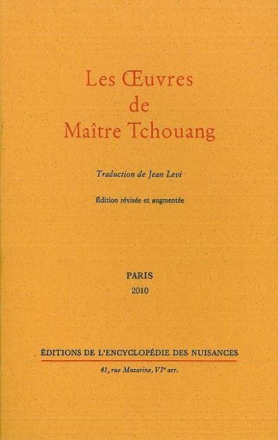 Les Œuvres de Maitre Tchouang