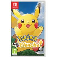 Pokemon, let's go! pikachu! NL SWITCH