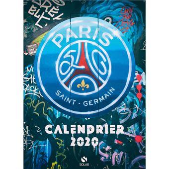 Calendrier du PSG 2020   relié   Collectif   Achat Livre | fnac
