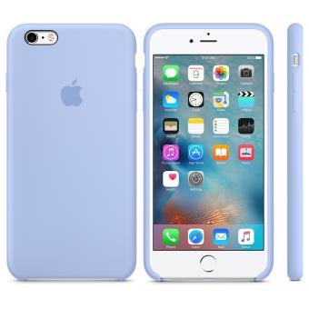 Coque en silicone Apple pour iPhone 6s Plus Lilas