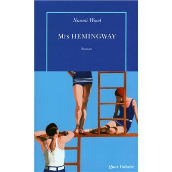Couverture de Mrs Hemingway