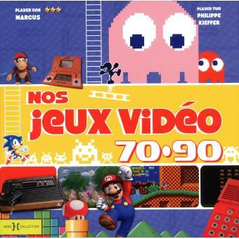 Nos jeux vidéo des années 70-90