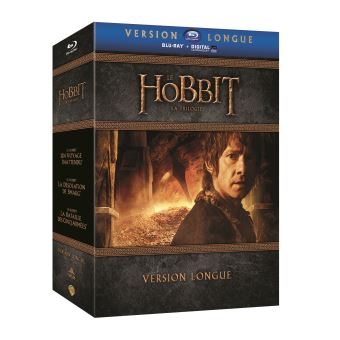 Bilbo le HobbitLe Hobbit : La Trilogie (Version longue) - Coffret Blu-ray