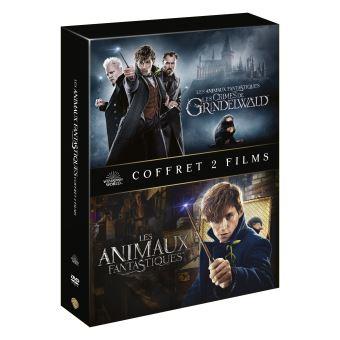 Les Animaux FantastiquesCoffret Les Animaux fantastiques 1 et 2 DVD