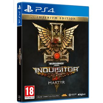 WARHAMMER 40K INQUISITOR MARTYR IMPERIUM FR/NL PS4