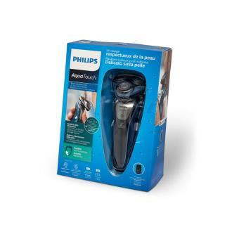 e7bf0b5c03ee6 Rasoir électrique Philips AquaTouch S5420 08 Noir et Bleu - Achat   prix