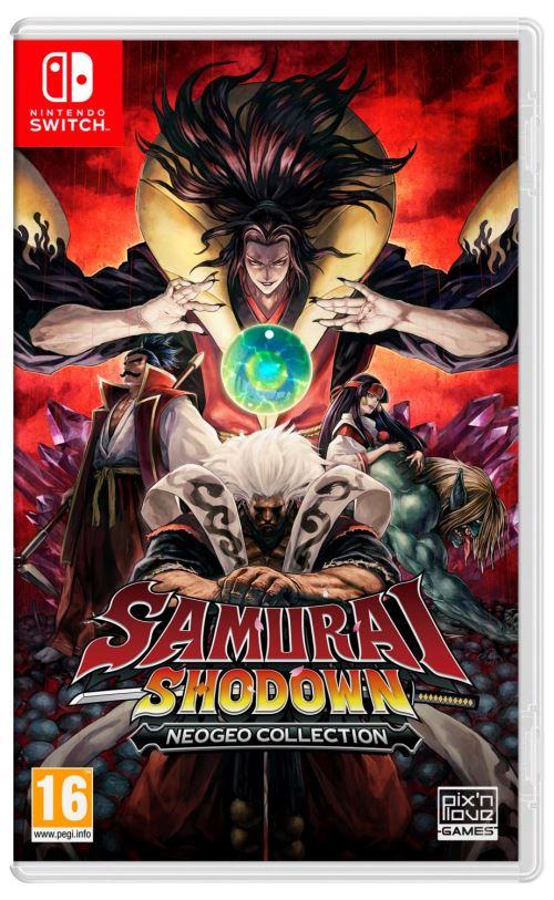 Samurai Shodown Neogeo Collection Nintendo Switch