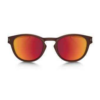 Marron Soleil Latch Lunettes De Metals Oakley Rouge Collection Et trsQBChdx