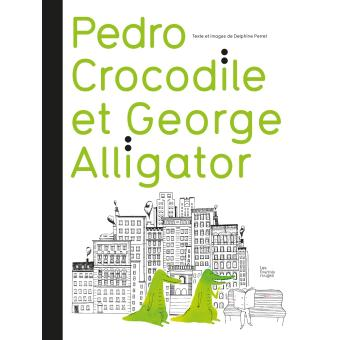 Pedro crocodile et georges alligator