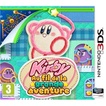 Kirby Au fil de la Grande Aventure Nintendo 3DS