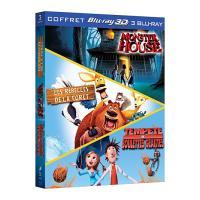 Monster House - Les rebelles de la forêt - Tempête de boulettes géantes - Coffret Blu-Ray 3D