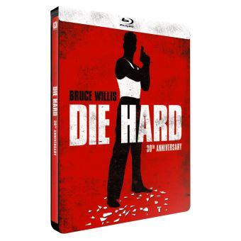 Die hardPiège de cristal Edition limitée Steelbook Blu-ray
