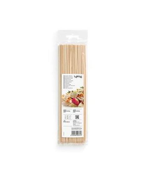40 Piques à brochettes en bois Lékué PAL00008MADU012 23 cm