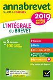 Annales Annabrevet 2019 L'intégrale du nouveau brevet 3e