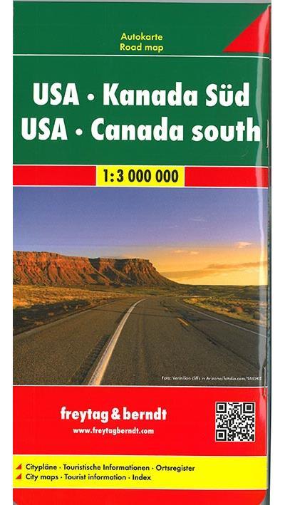Etats-Unis, Canada du sud