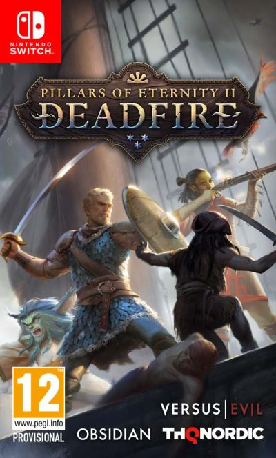 Pillars of Eternity 2 Deadfire Nintendo Switch