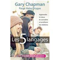 Les cinq langages, Guide pour les ados