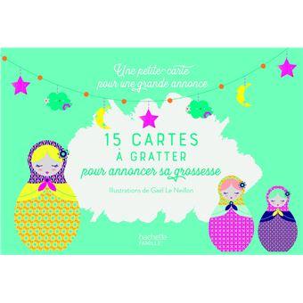 20 Cartes A Gratter Pour Annoncer Sa Grossesse