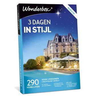 Wonderbox NL 3 dagen in stijl
