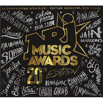 NRJ Music Awards 2018 Inclus DVD