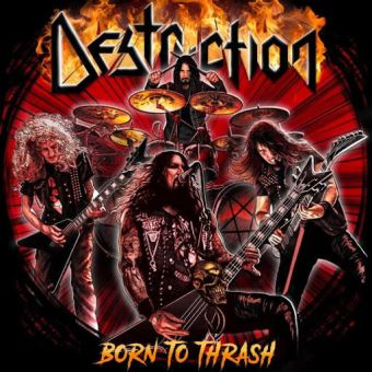 Born to Thrash: Live in Germany - 2LP 12''
