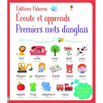 Ecoute et apprends - Premiers mots d'anglais