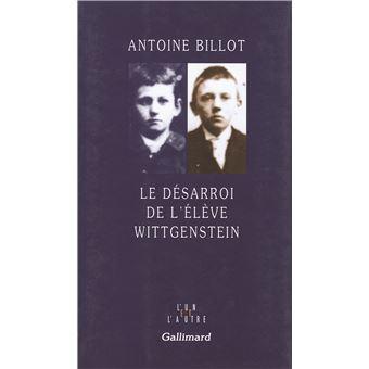 Le Désarroi de l'élève Wittgenstein