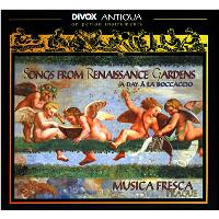 SONGS FROM RENAISSANCE GARDENS