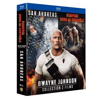 Coffret Dwayne Johnson Blu-ray