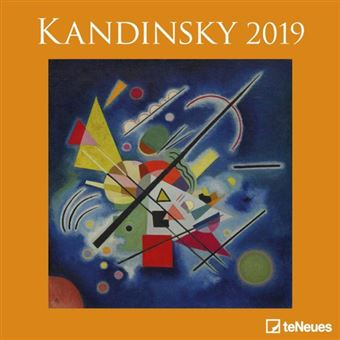 2019 Kandinsky 30 X 30 Grid Calendar