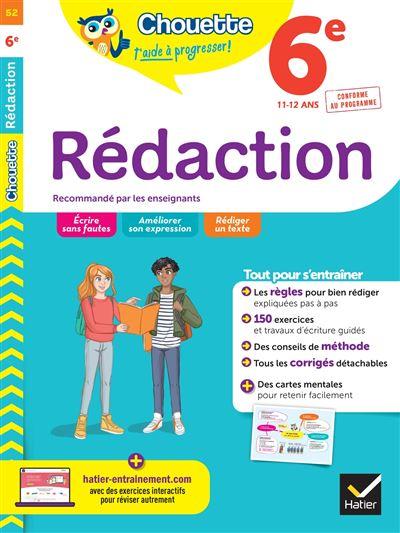 Rédaction 6e
