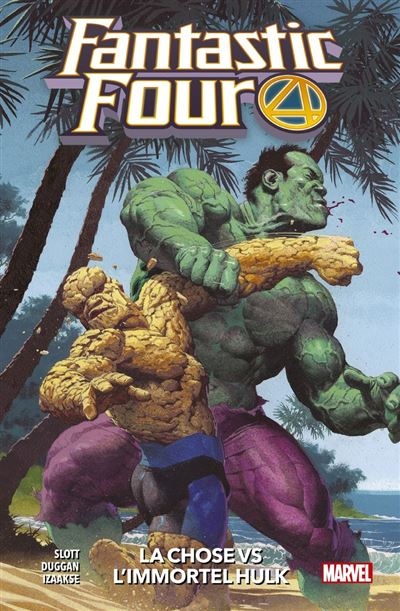 Fantastic Four (2018) T04 - La Chose Vs l'Immortel Hulk - 9782809494631 - 11,99 €