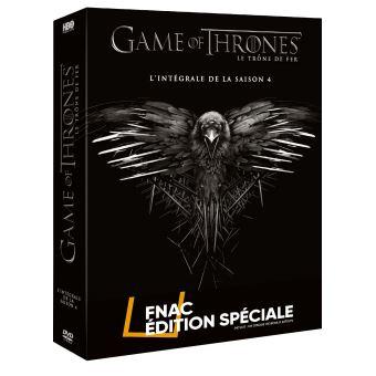 Le trône de ferGame of Thrones Coffret Intégral de la Saison 4  Edition spéciale Fnac DVD