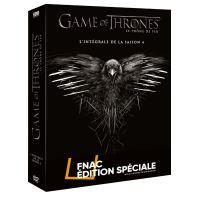 Game of Thrones Coffret Intégral de la Saison 4  Edition spéciale Fnac DVD